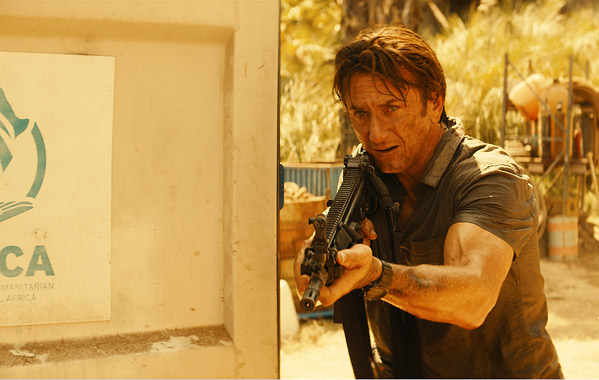 """Sean Penn pela tubos para """"The Gunman"""""""