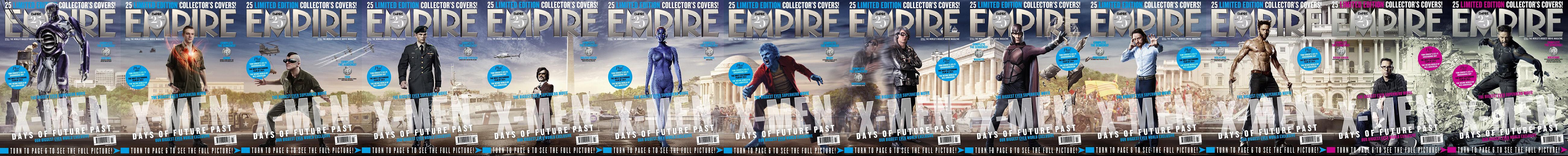 """""""X-Men: Dias del futuro pasado"""": Los personajes"""