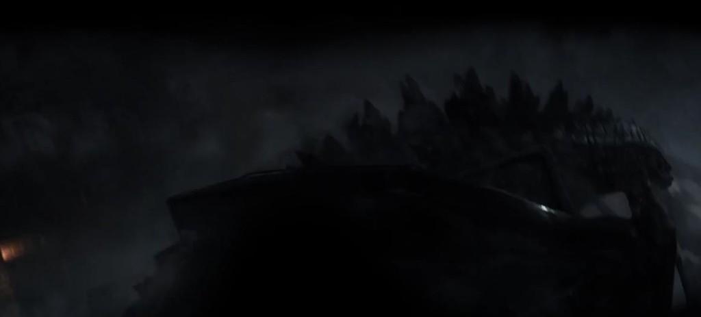 Godzilla fighting