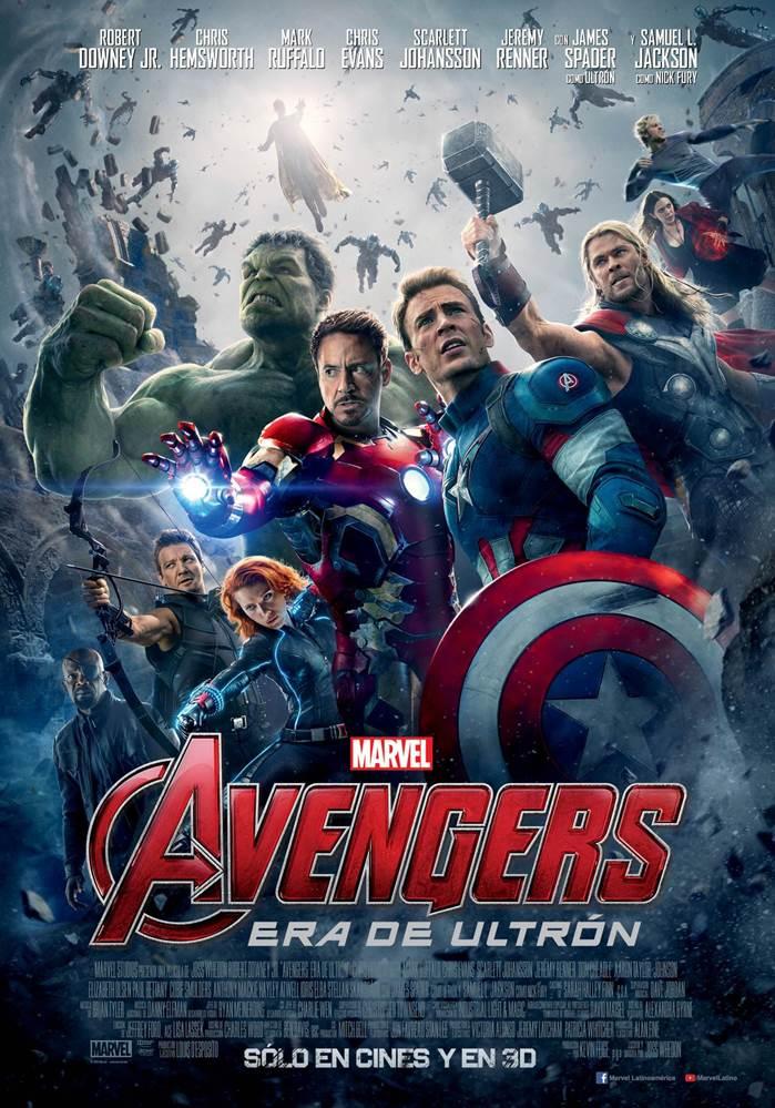 Avengers Era de Ultron poster
