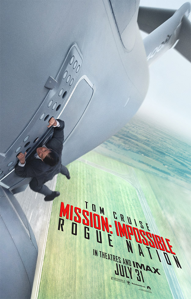 Mision Imposible 5 Poster