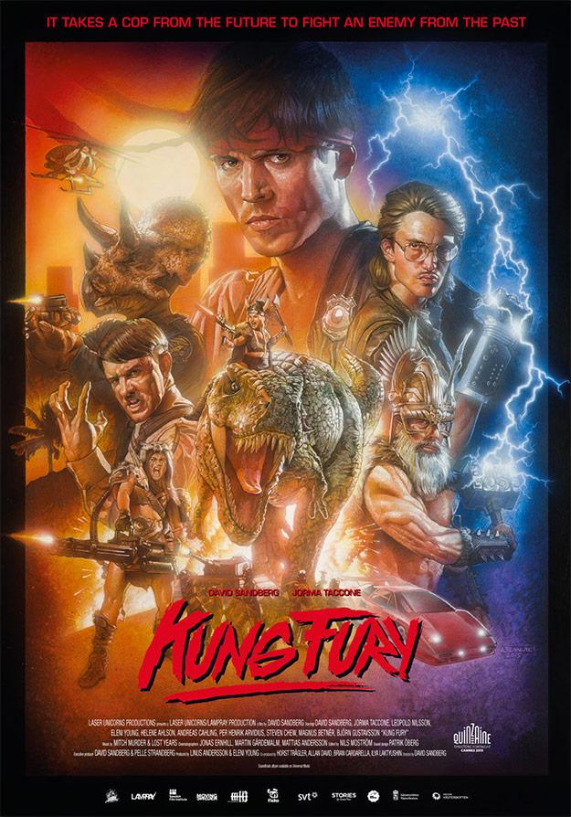 kungfury poster