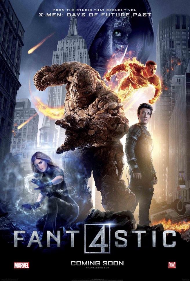 Los 4 Fantasticos poster 2