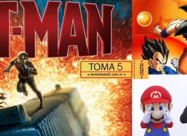 Toma 5 Radio: Ant-Man, Dragon Ball y Satoru Iwata