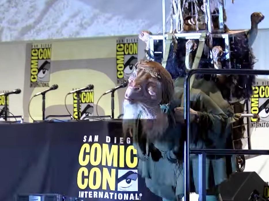 """Saluden a Bobbajo: Una de las criaturas nuevas de """"Star Wars""""."""