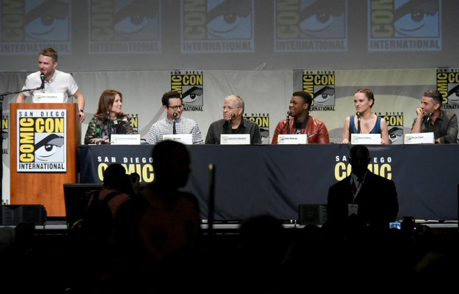 Star Wars panel Comic-Con