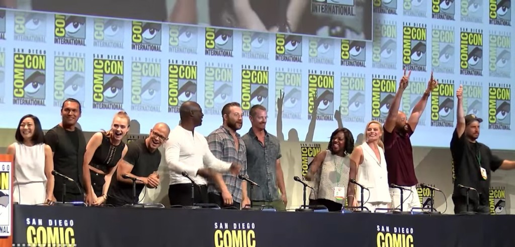 Suicide Squad panel