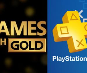 Anunciado el Lineup de juegos de PS Plus y Games With Gold para el mes de Octubre.