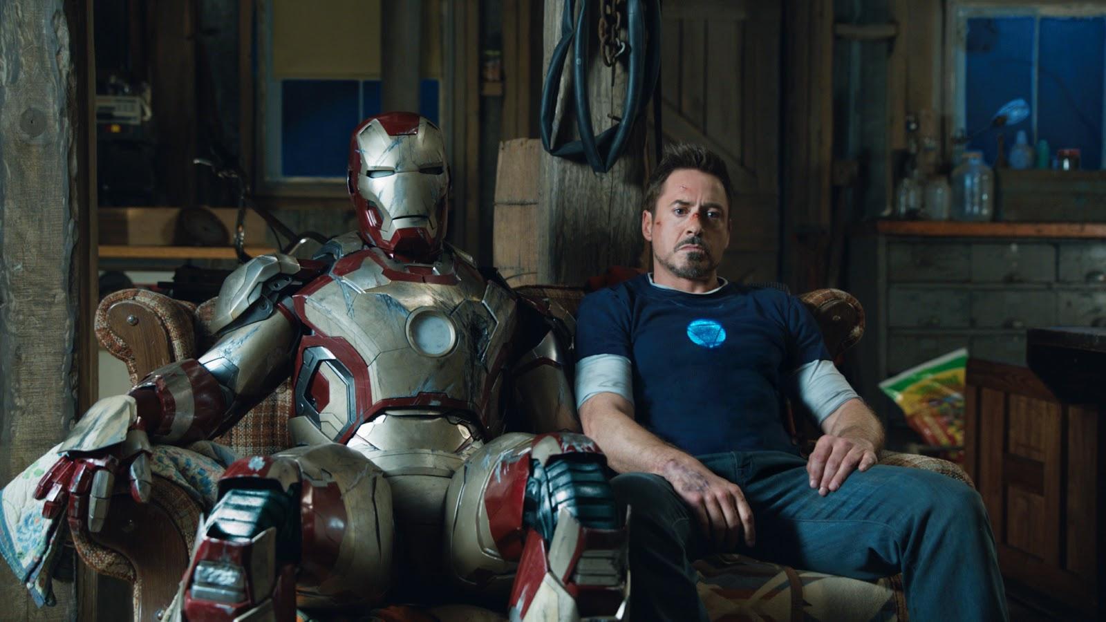"""""""Iron Man  3"""": Marvelduración"""