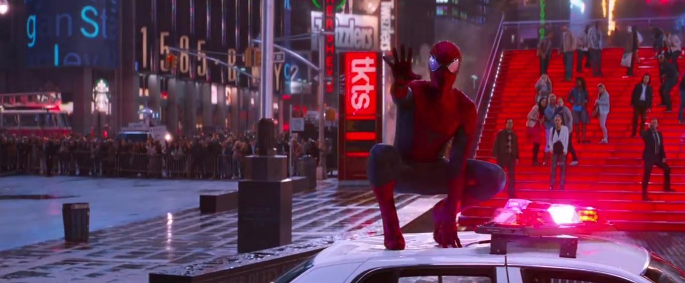«El sorprendente hombre araña 2»