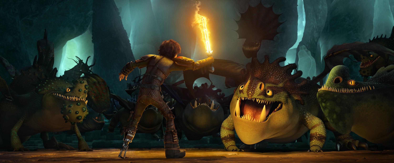 """""""Como entrenar un dragon 2"""": Fuego, hielo y barbas"""