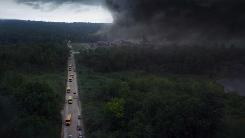 «En el tornado»