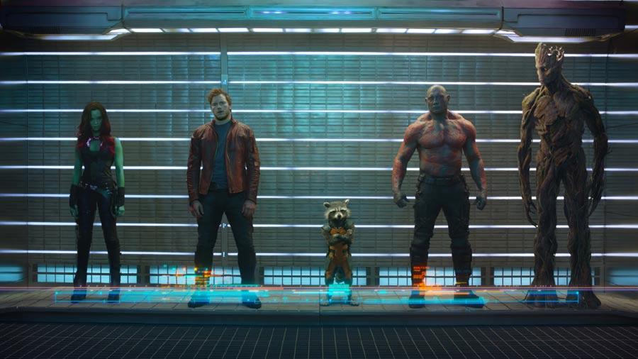 «Guardianes de la Galaxia»: Amigos son los amigos
