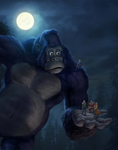 """""""Kong – King of the apes"""": la serie infantil llegará en 2016 a Netflix"""