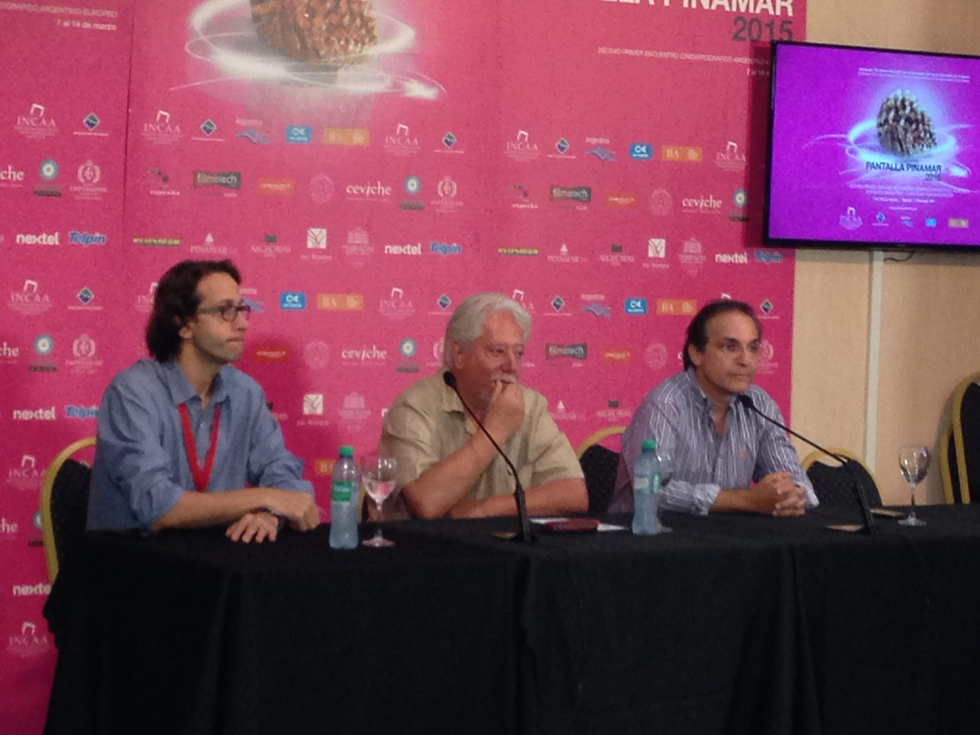 """""""La Historia Oficial"""": Conferencia de prensa en """"Pantalla Pinamar"""""""