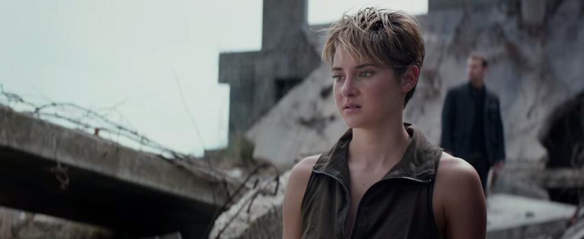 """Insurgente"": La lucha externa e interna de Tris"