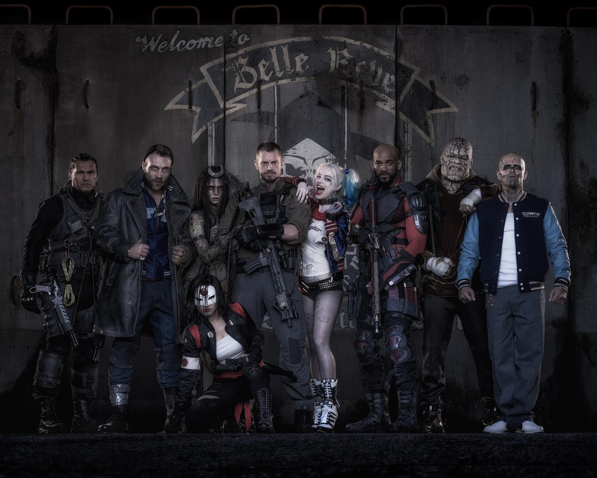 """Primeras imágenes de """"Suicide Squad"""""""