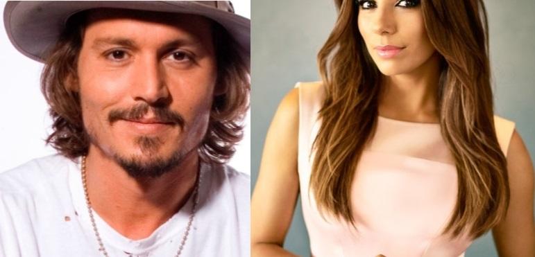 Johnny Depp y Eva Longoria llegan a la TV