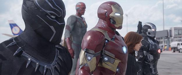 «Capitán América: Guerra Civil»: Nuevas imágenes del film