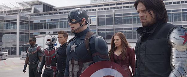 «Capitán América: Guerra Civil»