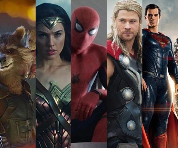 Todos los superhéroes que se vienen en 2017