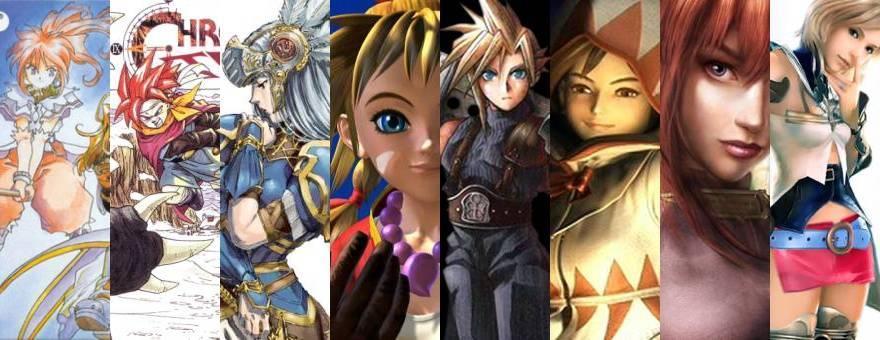 Top 5: Mejores JRPG (RPG Japoneses)