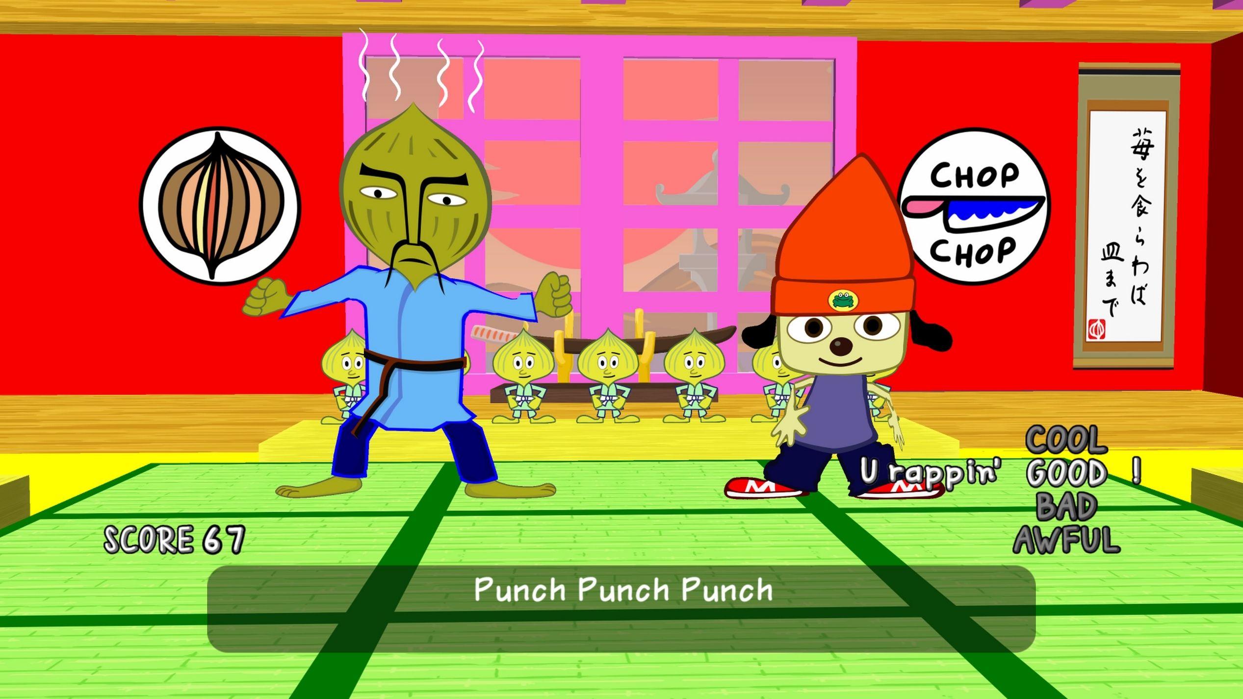 «En forma de fichas»: Vuelve PaRappa the Rapper, remasterizado para PS4
