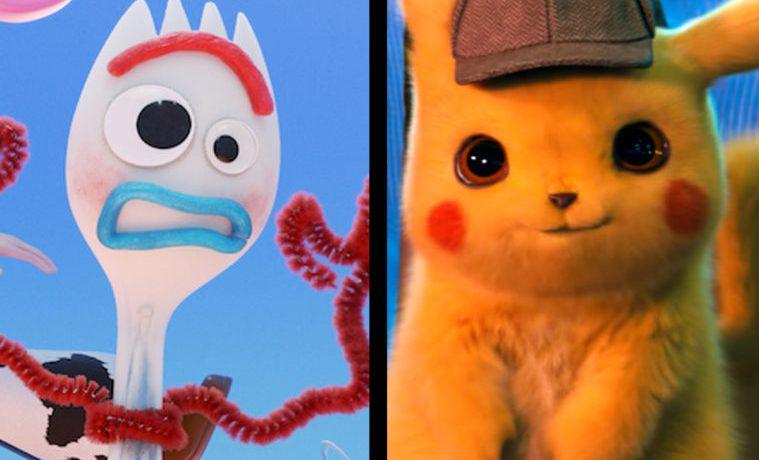 Muñecos y pokemon: Nuevos spots de Toy Story 4 y Detective Pikachu