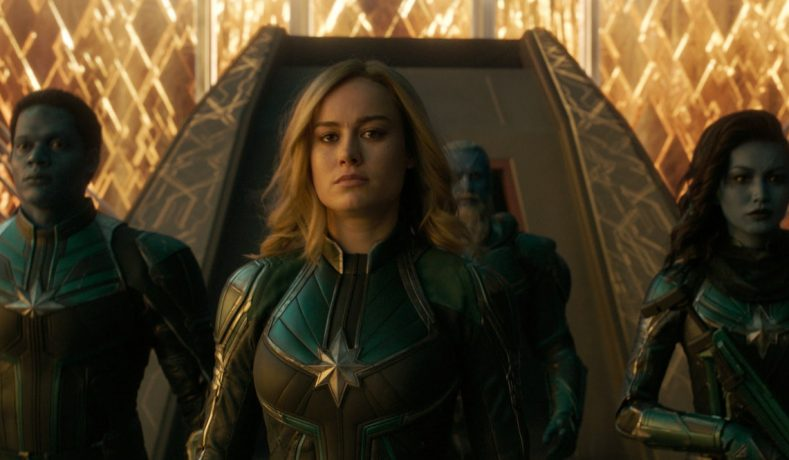 Captain Marvel rompe records a tan solo dias del estreno