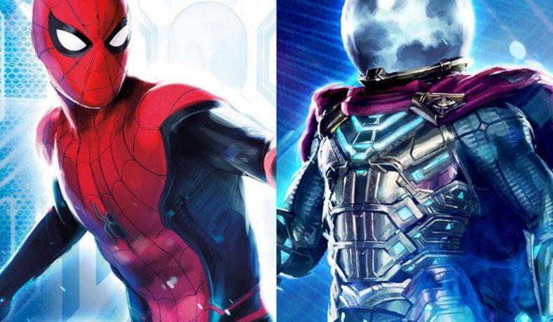 Reveladas las figuras Marvel Legends de Spider-Man Far From Home