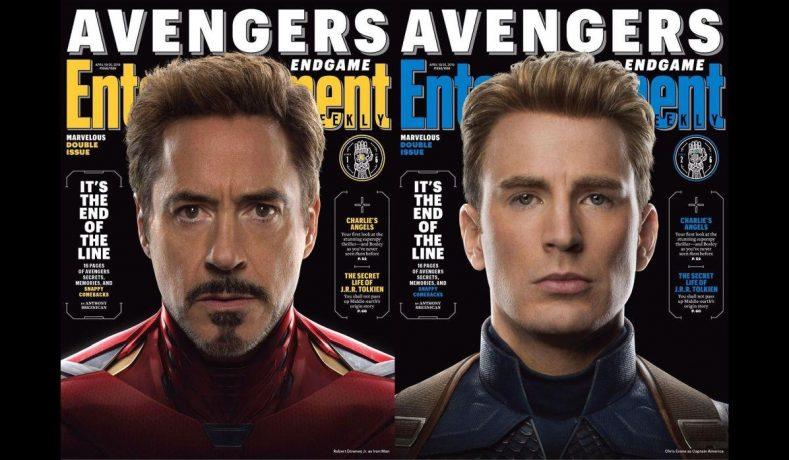 Nuevas portadas de Avengers Endgame