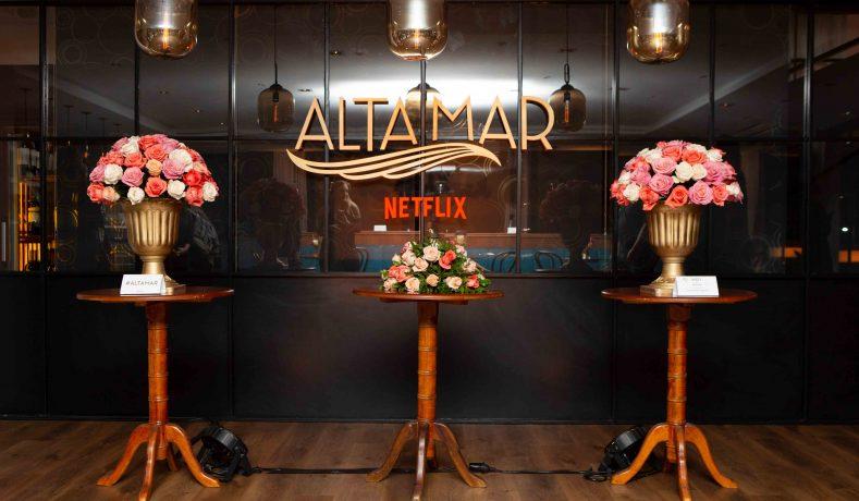 Netlfix presentó «Alta Mar» su nueva serie en primera clase y con mucha intriga