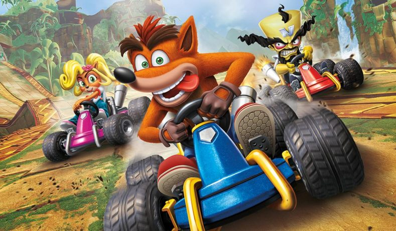 Volvió Crash Team Racing y en forma de remake