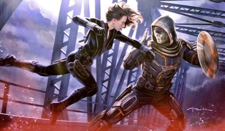 Nuevos artes conceptuales de Black Widow y The Eternals