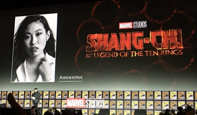 Se revela el posible papel de Awkwafina en Shang-Chi