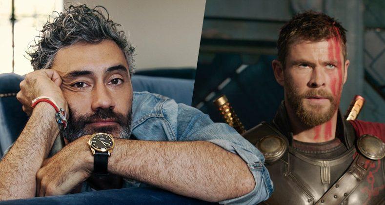 Taika Waititi ya termino el guión de Thor: Love And Thunder