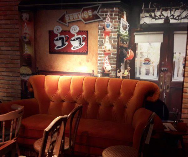 #WarnerCafe: Friends por unos días en pleno Palermo