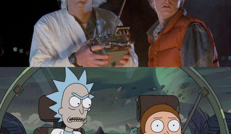 A Christopher Lloyd le gustaría ver un crossover entre Rick And Morty y Back To The Future
